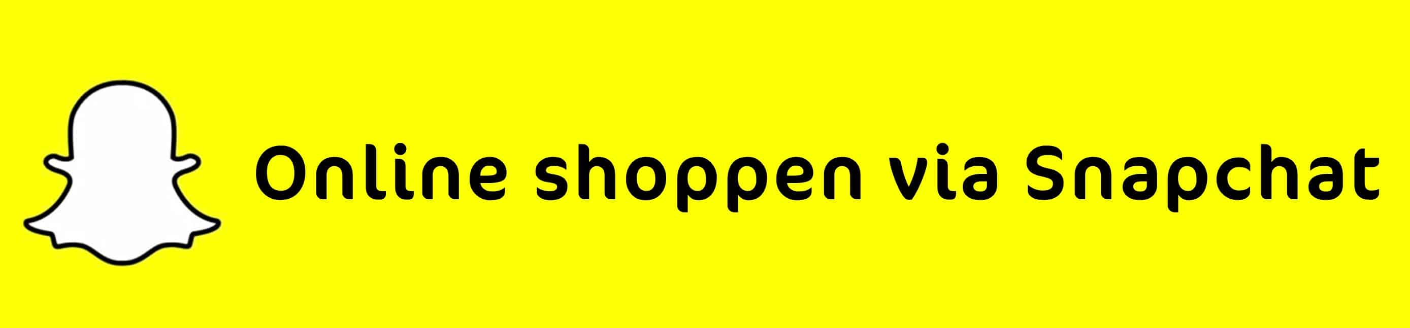 Shoppen snapchat